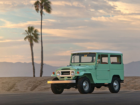 Toyota Land Cruiser Fj40 1969 Mint Green Lost Curious