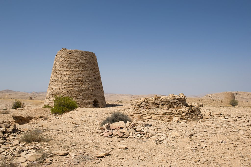 Oman Trail Beehive tombs Jabal Bani Jabir
