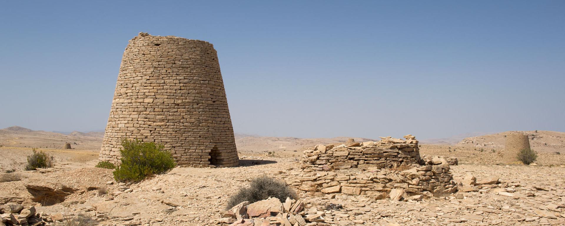 Robida-Oman-Jabal-Jabir-beehive-tombs