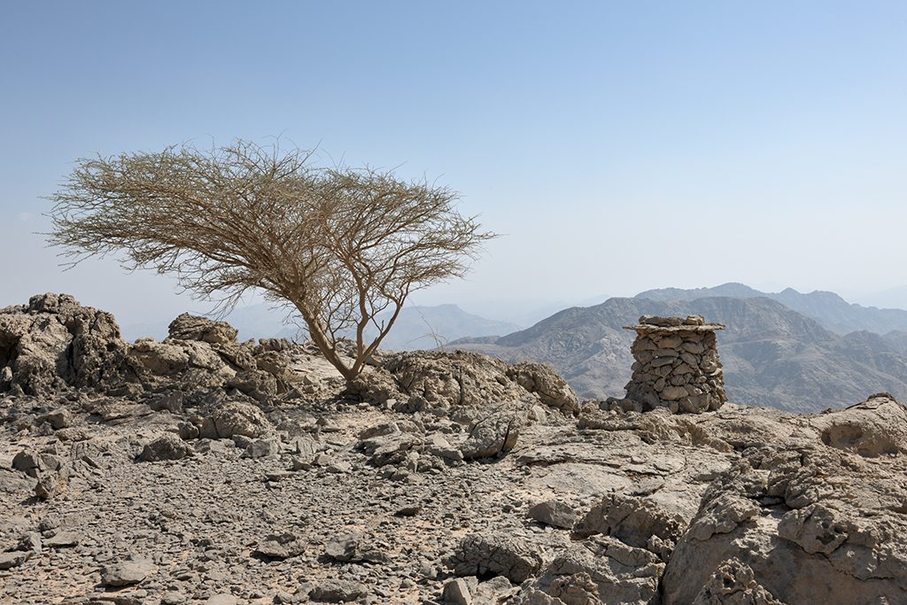 Al hajar mountains of Fujairah