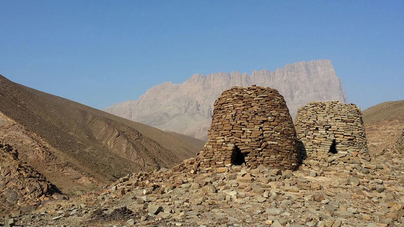 Al Ayn beehive tombs Oman