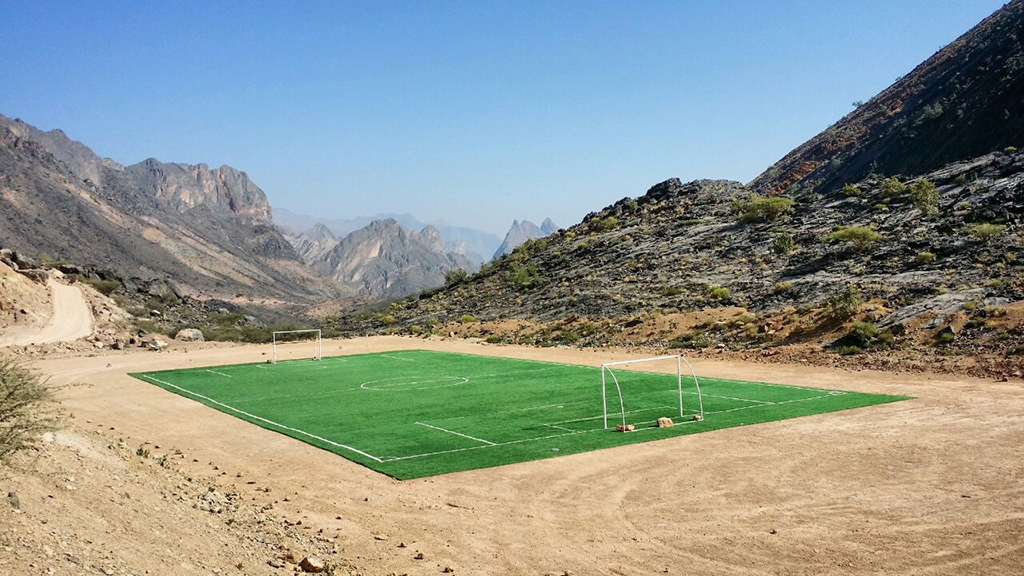 Al Hajar Oman Trail Football field