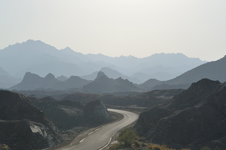 oman mountain road