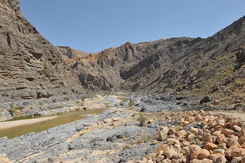 Oman Trail wadi al Abriyeen