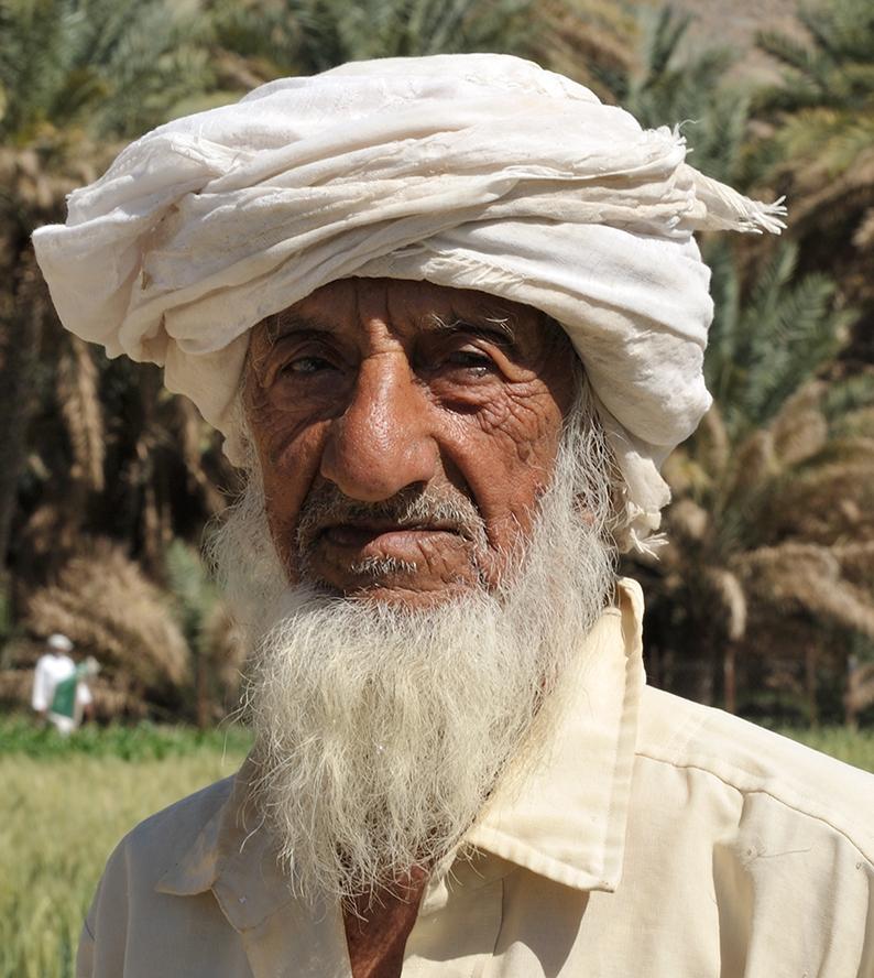 Oman farmer