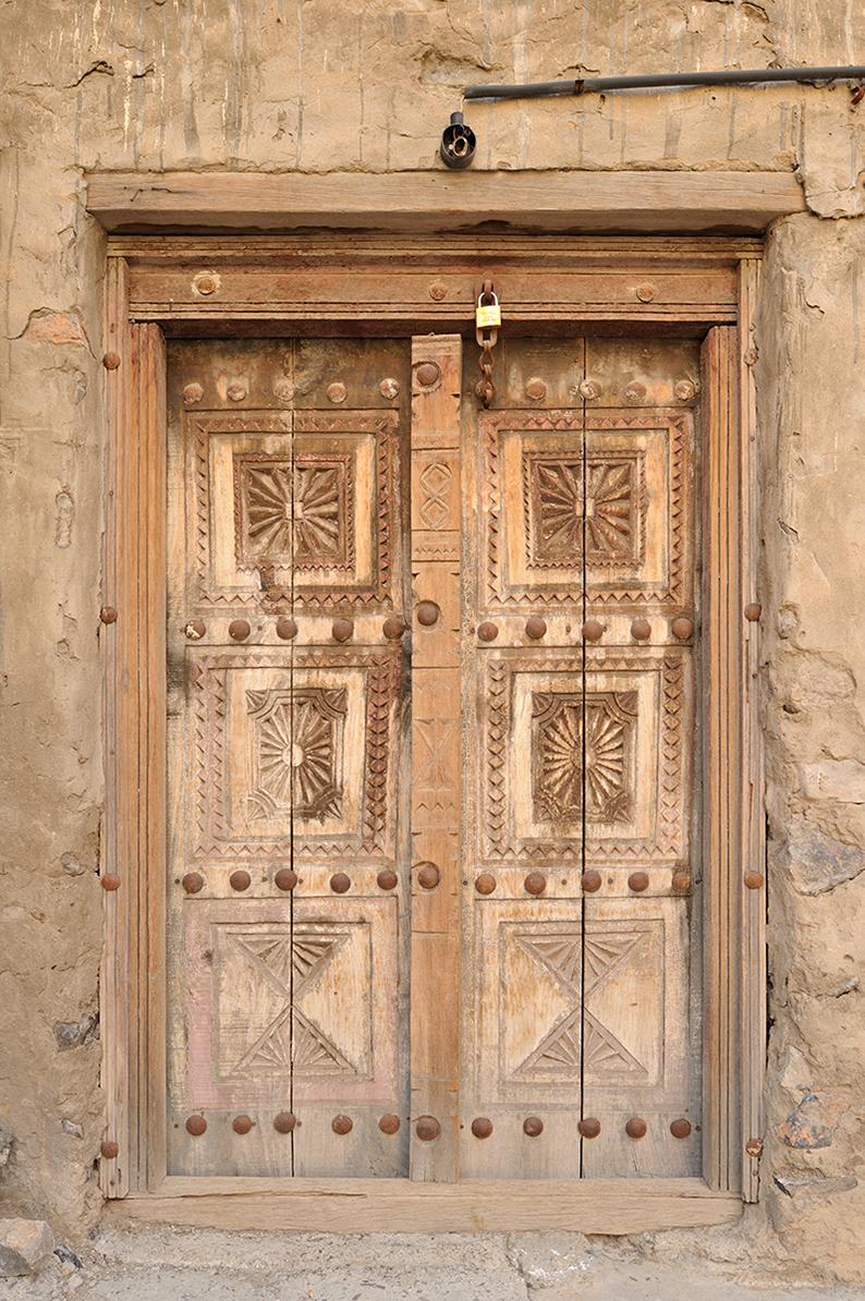 Al Hamra door Oman