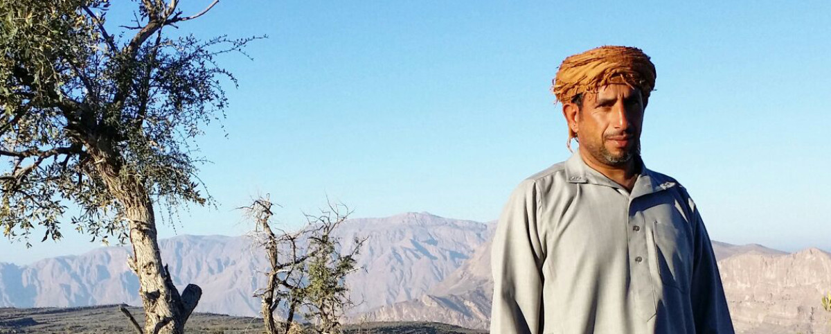 Oman shepherd jabal sham