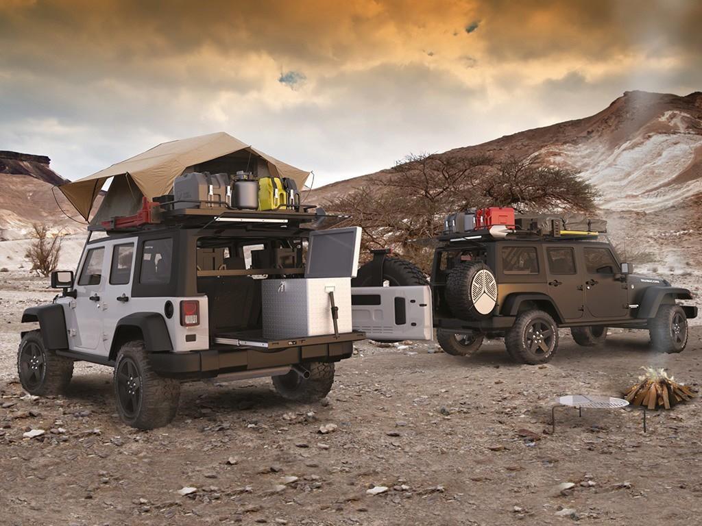 Jeep Wrangler Jku Roof Rack 4 Door Half Cargo Rack Front Runner