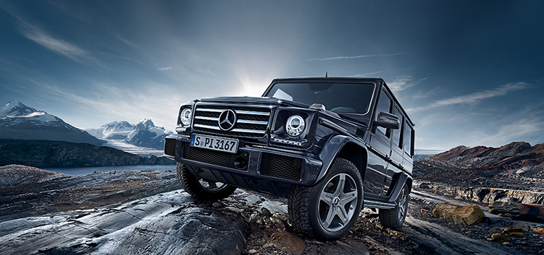 Mercedes Glass G-wagon