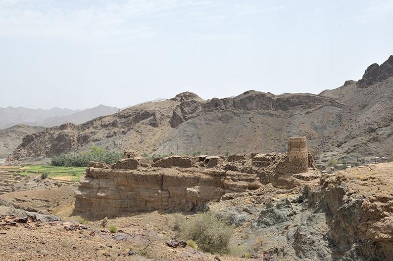 Ruins in Oman
