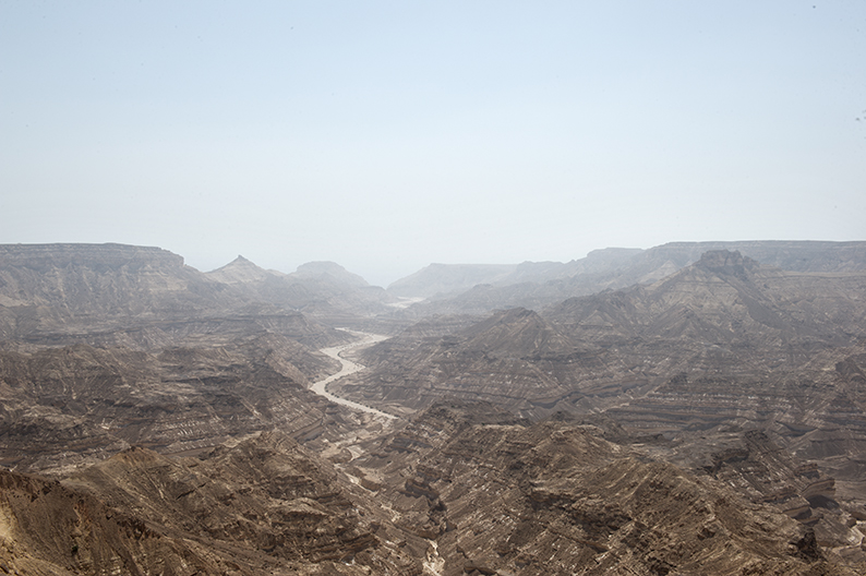 Wadi in the Dhofar mountains
