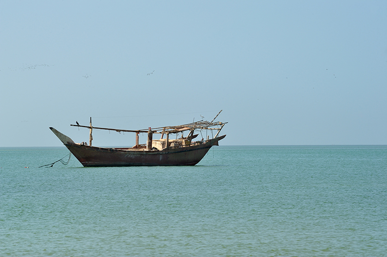 Dhow in Oman