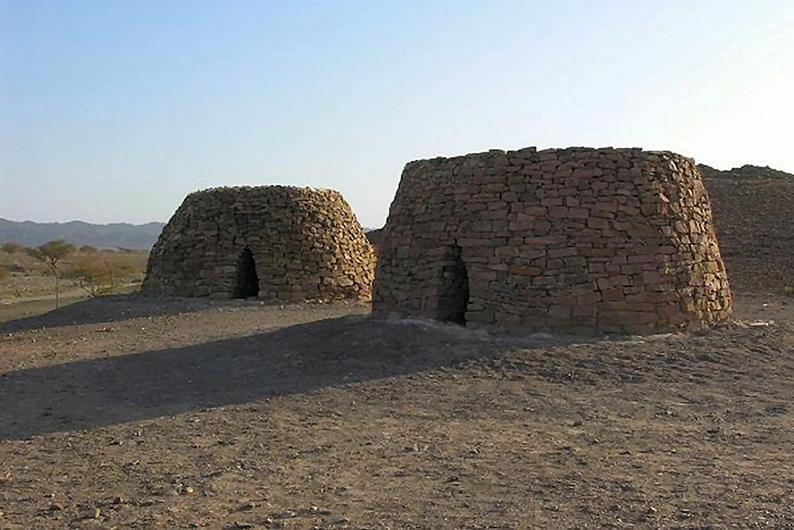Bat beehive tombs