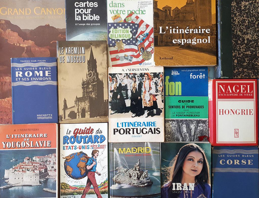 vintage travel guides