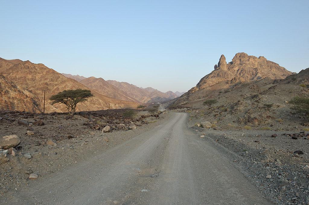 Al Hajar traverse
