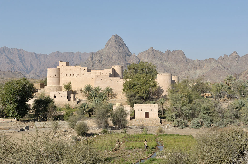The Haybi fort