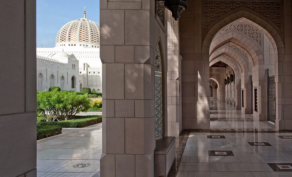 Sultan Taboos Grand Mosque