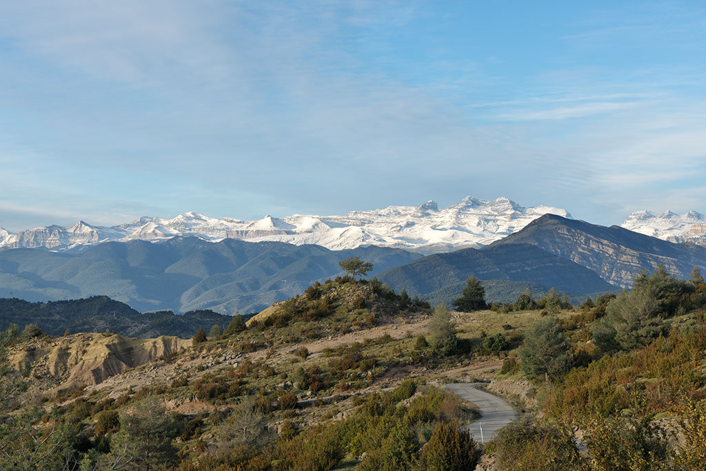 Pireneu mountains