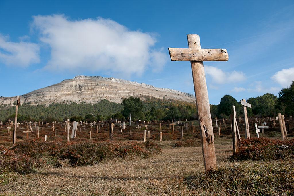 Sad Hill cemetery